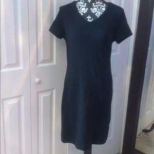 Black V Neck Old Navy Dress Size Medium
